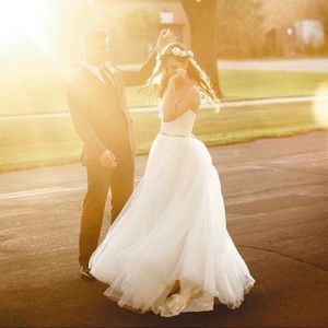 Wtoo Ivory Sweetheart Strapless Wedding Gown Ivory